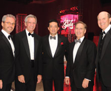 Guillermo Castillo, Jose Sariego, Carlos Saballos, Ed Joyce and Peter Pruitt